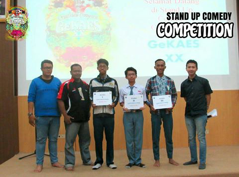 'Ngakak' Bareng di Stand Up Comedy Competition