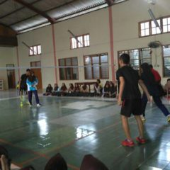 Babak Final, Classmeeting Badminton Berlangsung Sengit